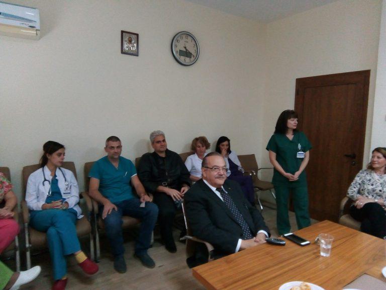 """Известен малтийски професор гостува на Клиниката по акушерство и гинекология на УМБАЛ """"Свети Георги"""""""