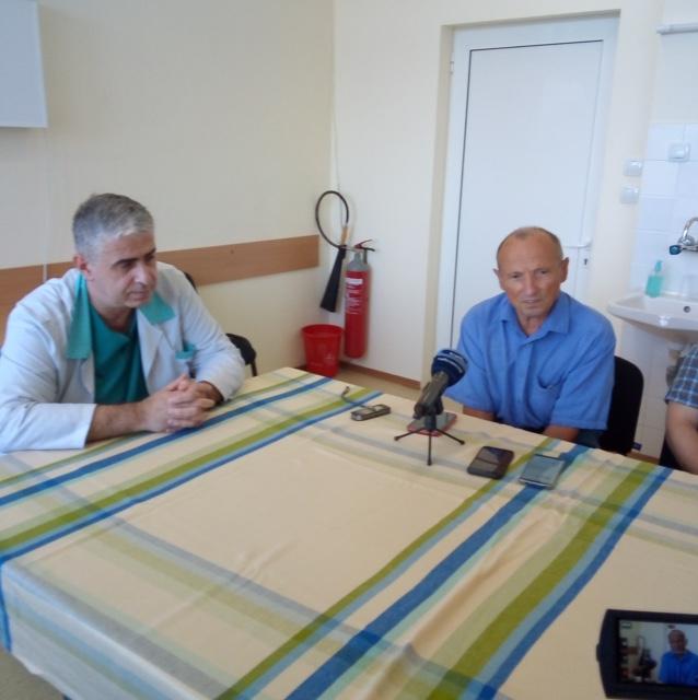 Премахнаха тумор от коляно на пациент