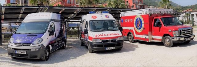 """""""Голденбург Медикал Сървис"""" осигурява бърз и надежден транспорт на болни"""
